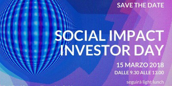 Social Impact Investor Day: startup per il sociale