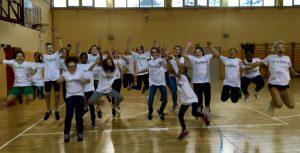 alunni a +Sport a Scuola