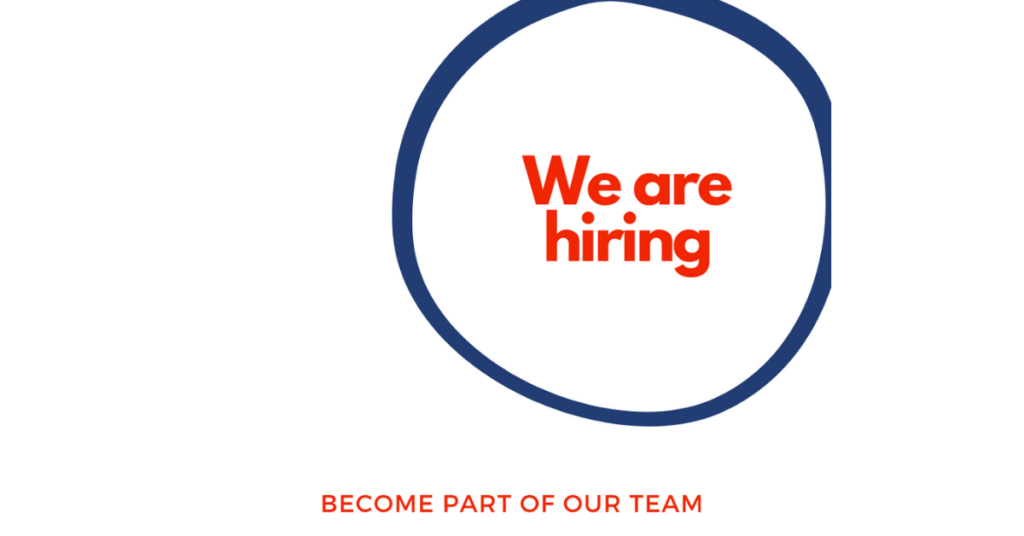 We are hiring! Join our team